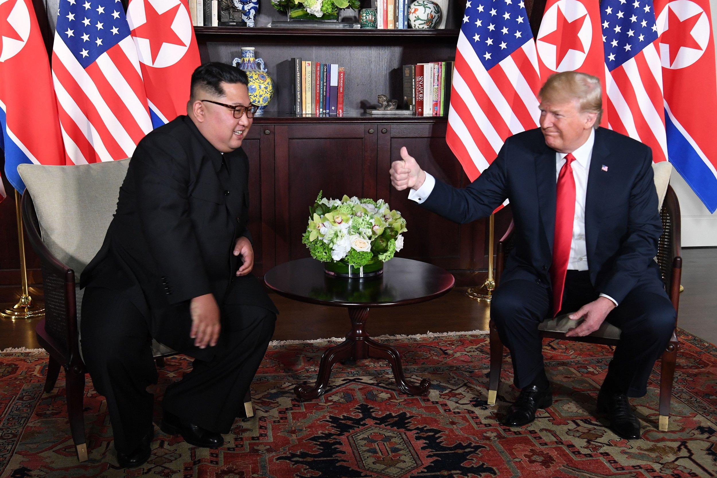 donald trump, big, fat, war, north, korea, kim