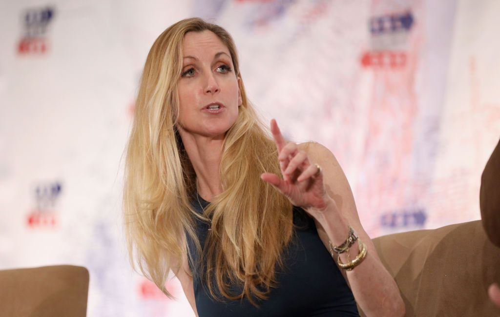 ann coulter, donald trump, wall, president