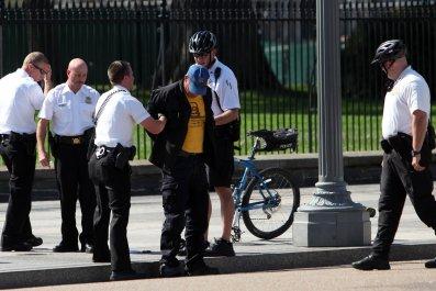 secret service arrest