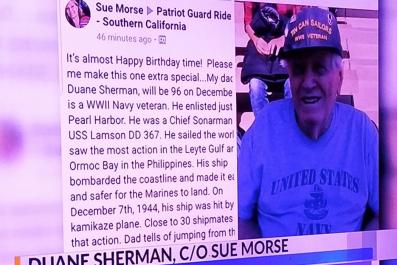 Duane Sherman 96th Birthday