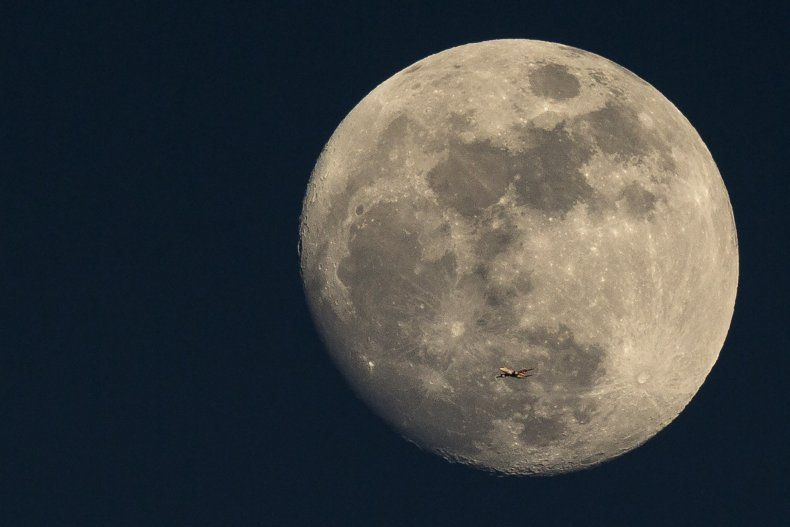 moon getty stock