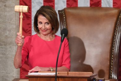Nancy Pelosi Appears to Have Won Over Progressives with Her Climate Change Message