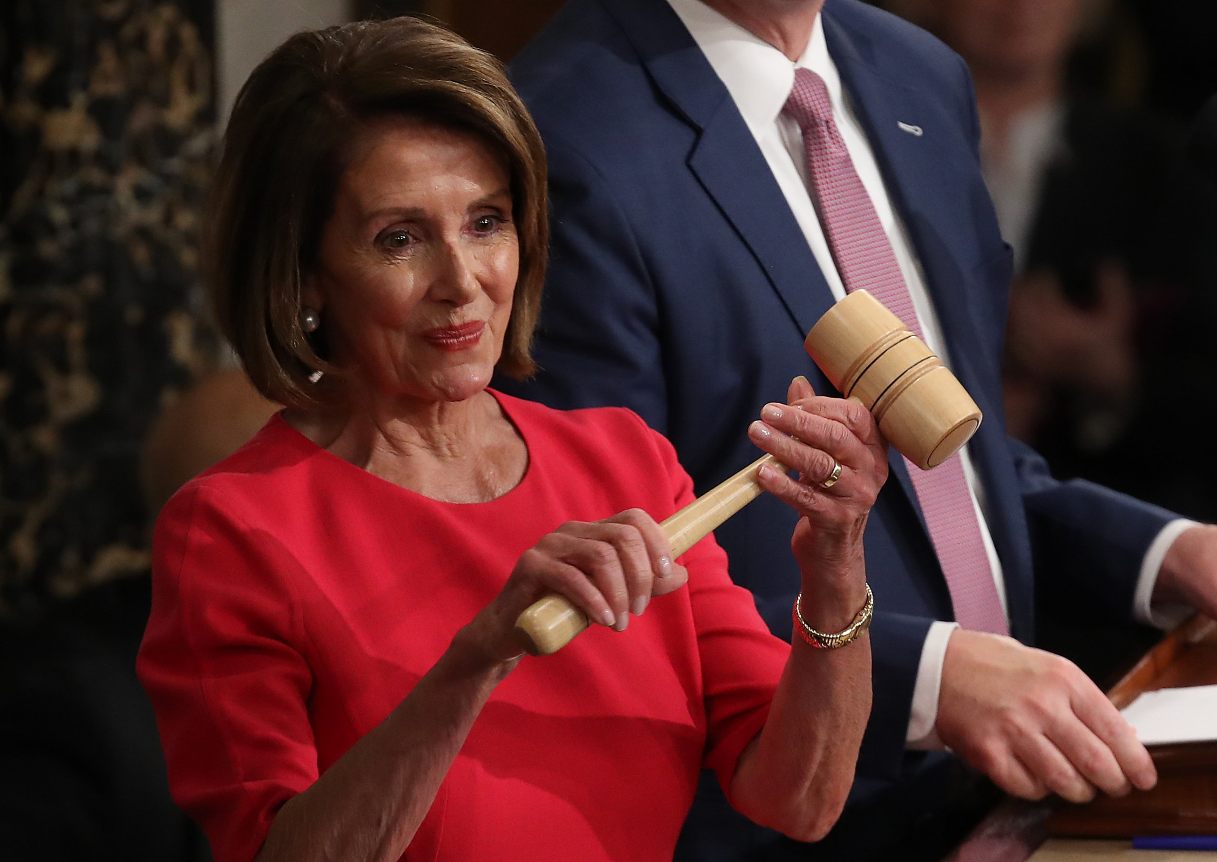 Nancy Pelosi Speaker gavel