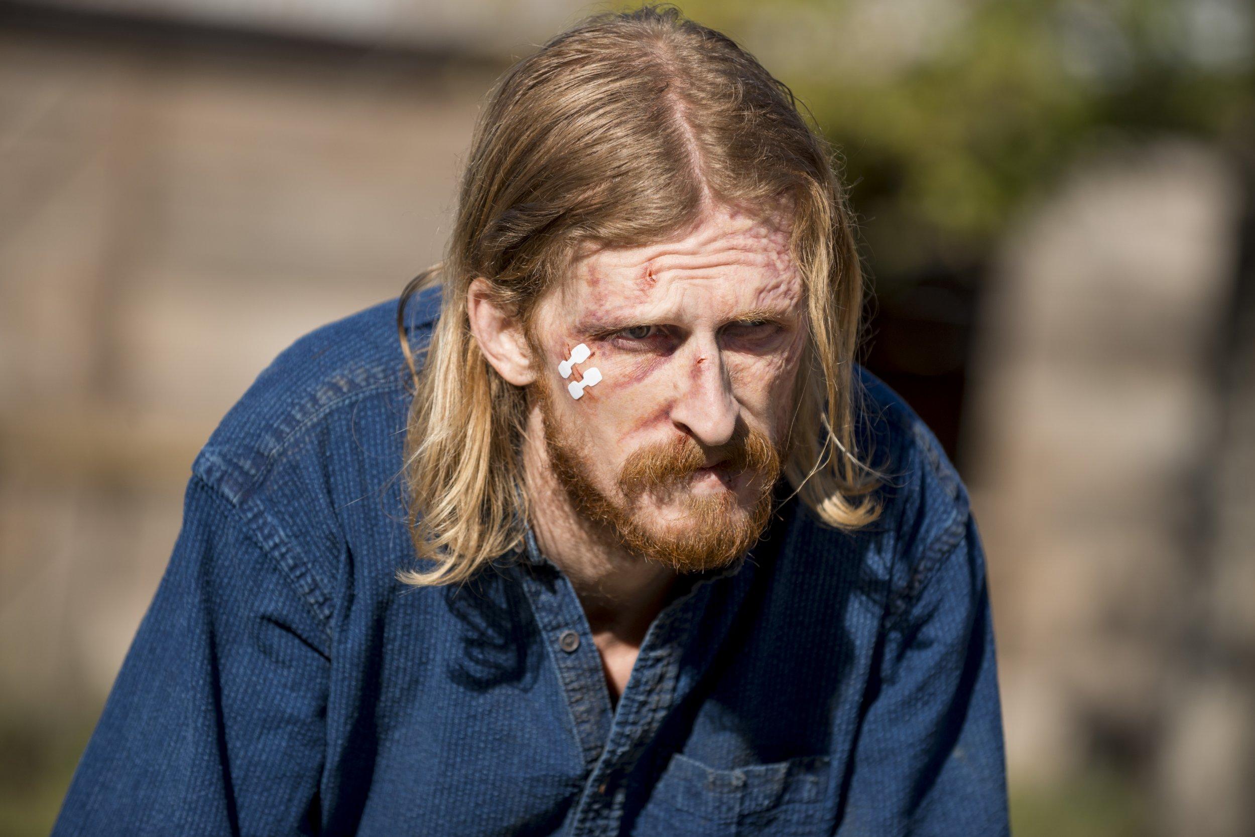 Walking Dead Dwight sad 8x16