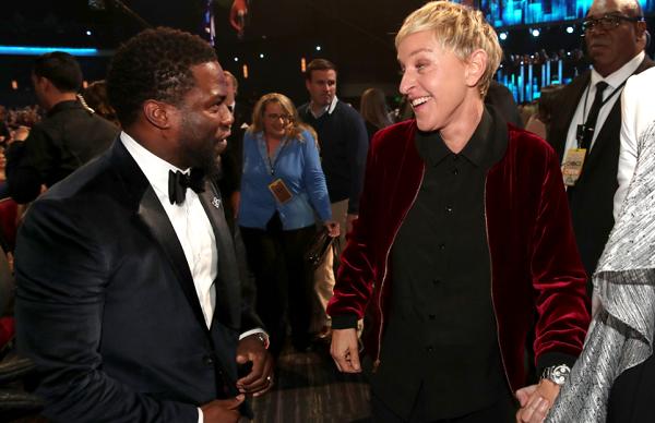 Ellen DeGeneres Still Wants Kevin Hart to Host 2019 Oscars