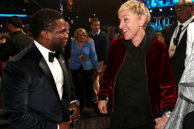 Ellen DeGeneres Still Wants Kevin Hart to Host 2019 Oscars