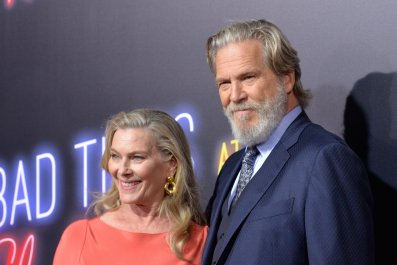 GettyImages-1038193210 The Dude and wife Susan Geston