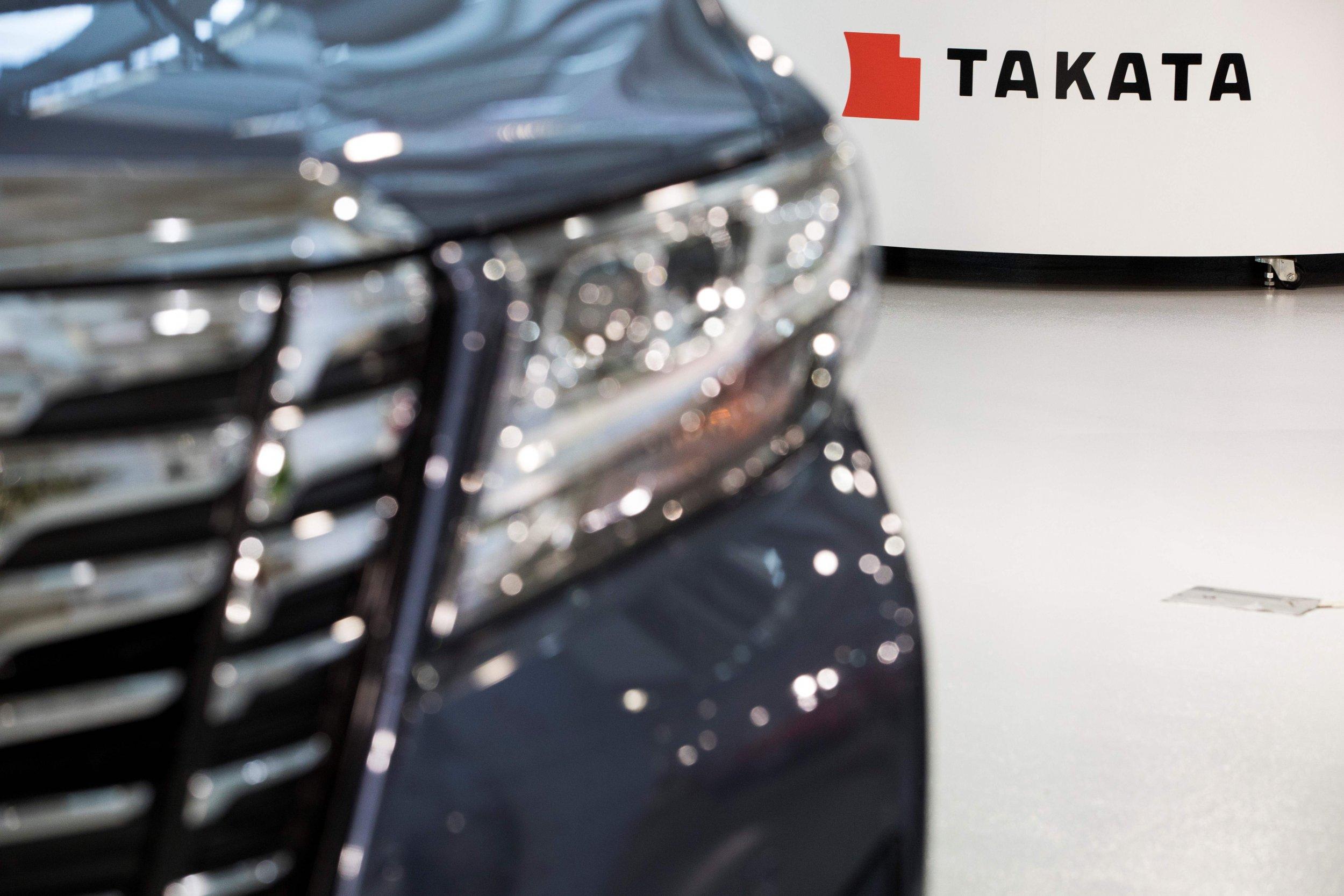 takata car and logo