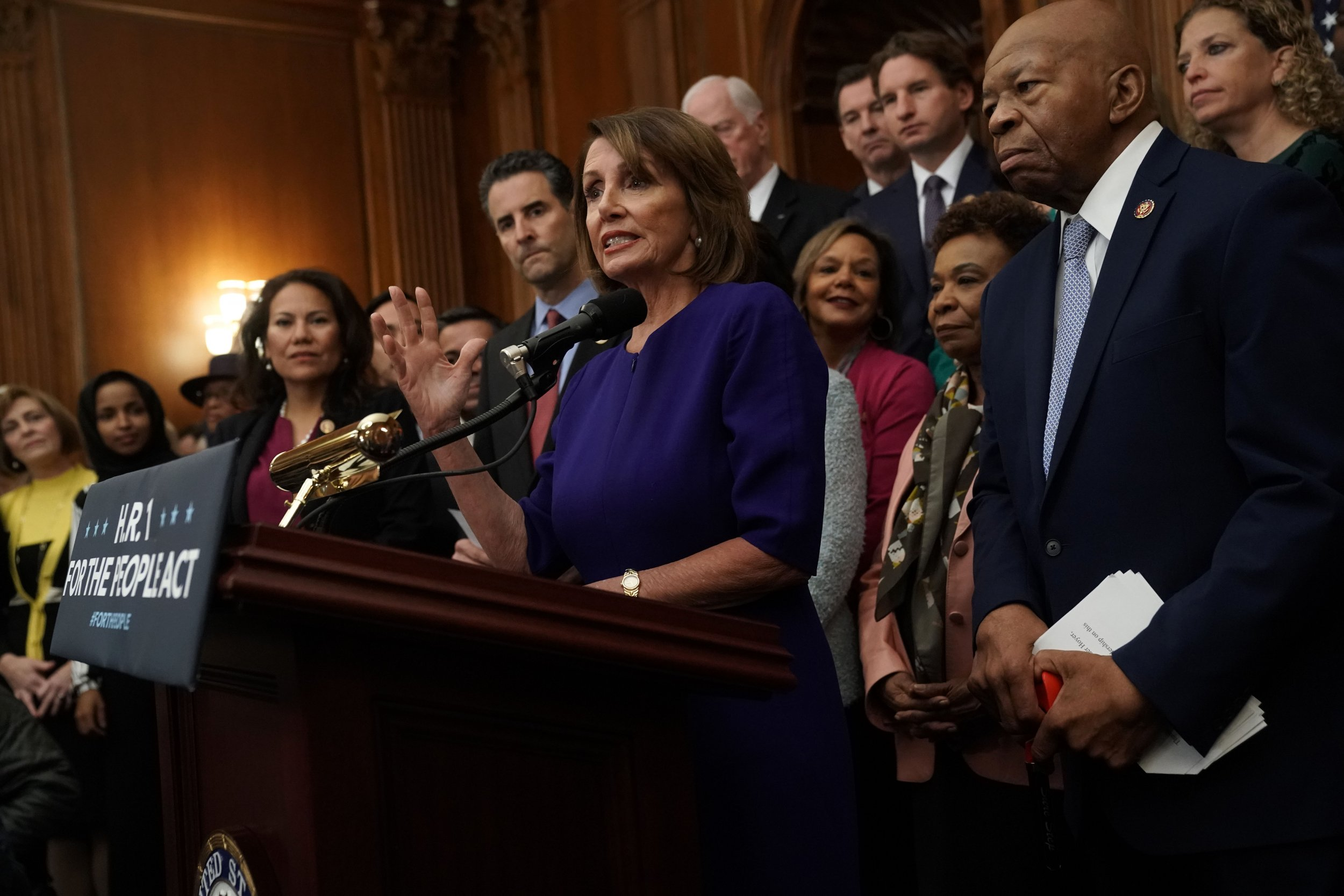 Nancy Pelosi, Democrats Balk at Condemning Rashida Talib's 'Impeach the MotherF—ker' Remarks