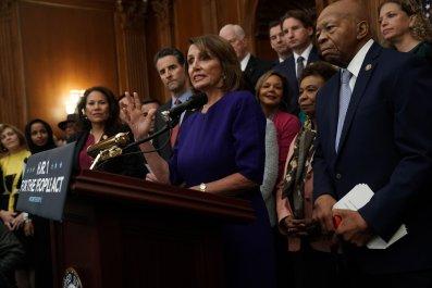 Nancy Pelosi, Democrats Balk at Condemning Rashida Talib's 'Impeach the MotherF—ker' Remarks