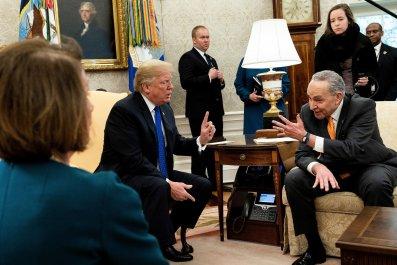 Schumer, Trump, shutdown, months, years