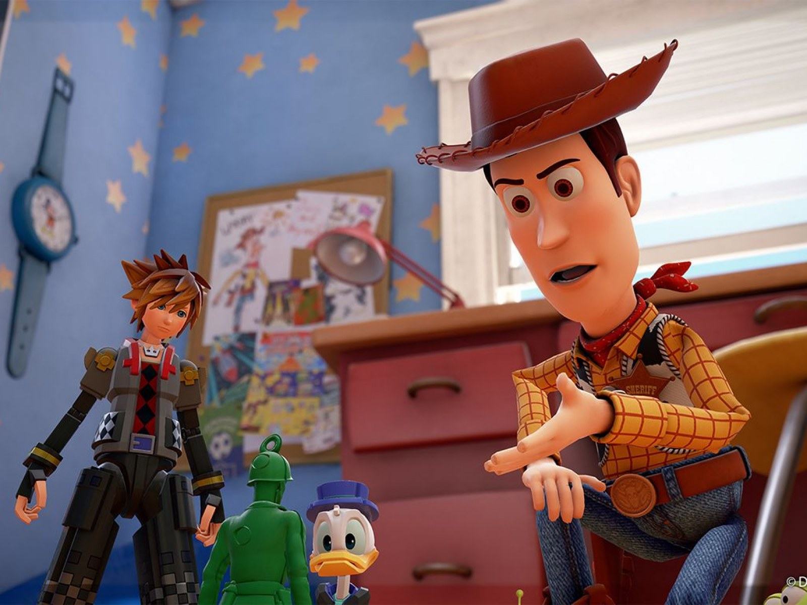 Kingdom Hearts 3 Director Refused To Make A Game Without Toy