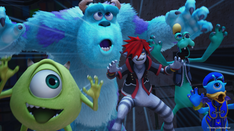 Kingdom Hearts 3 monsters inc faces