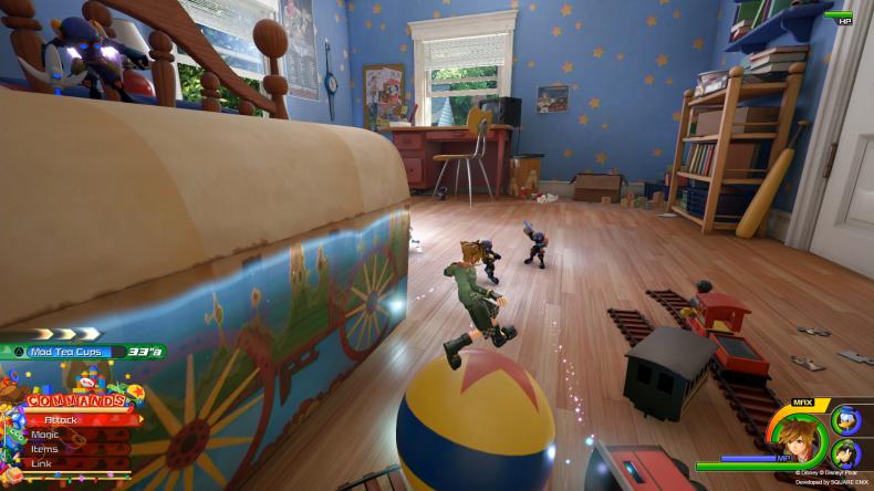 Kingdom Hearts 3 toy story balance