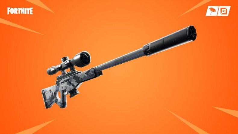 Fortnite Suppressed Sniper