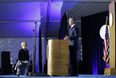 Gavin Newsom, Dutch, California, Governor, Speech, Midterms