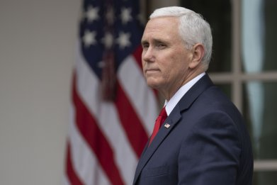 Mike Pence, false claims, terrorists, southern border