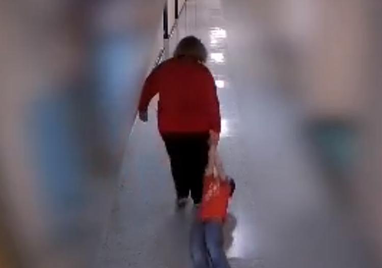 Kentucky Teacher Dragged Child Down School Hallway