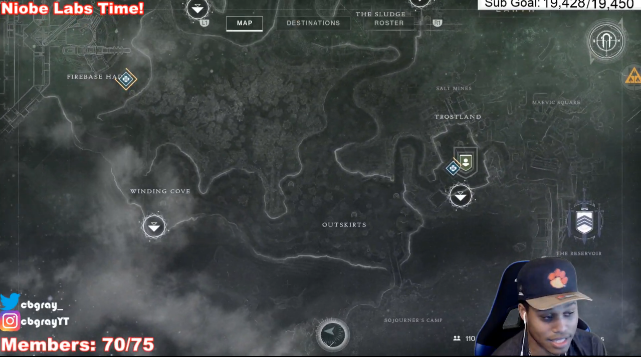 Destiny 2 niobe labs location