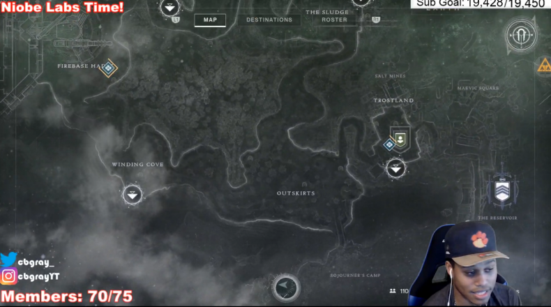Destiny 2 niobe labs location