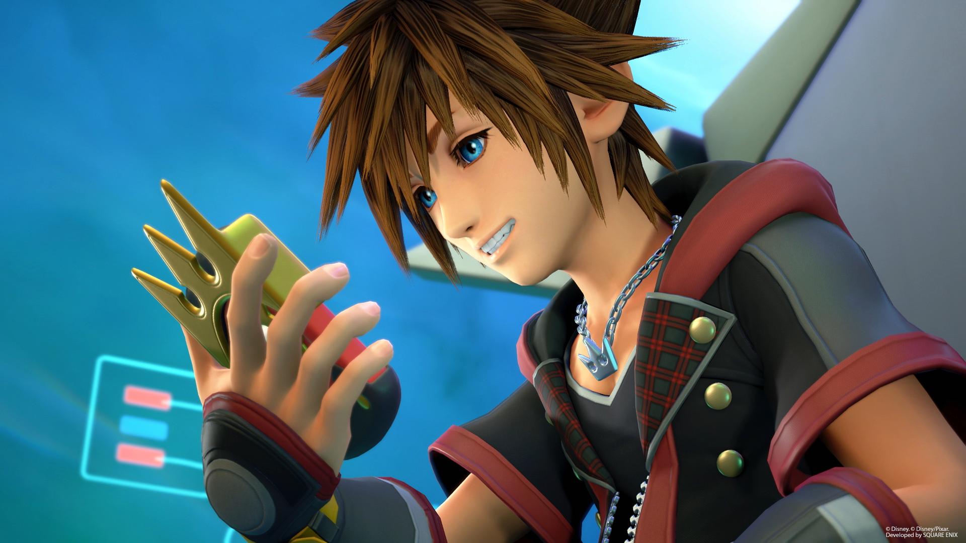 Kingdom Hearts 3 sora smile preorder