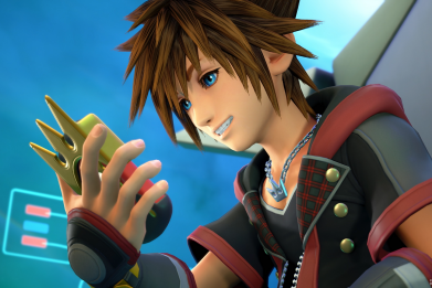Kingdom Hearts 3 sora smile preorder