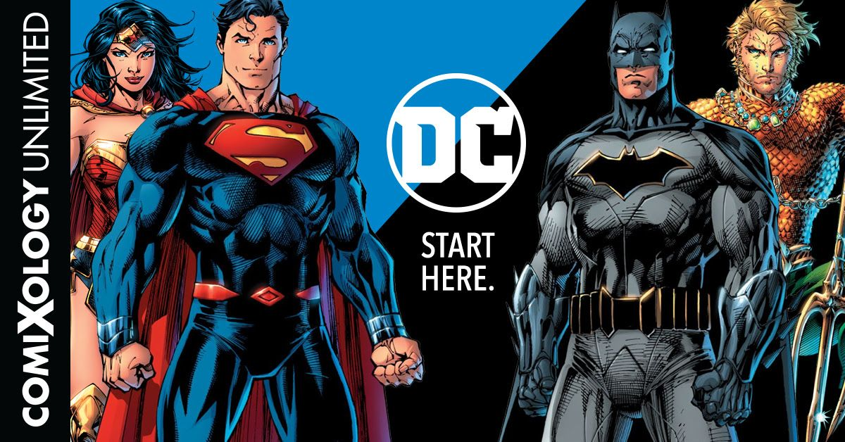 comixology dc comics