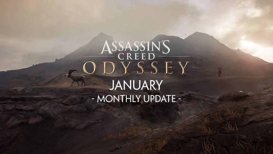 ac odyssey january update dlc