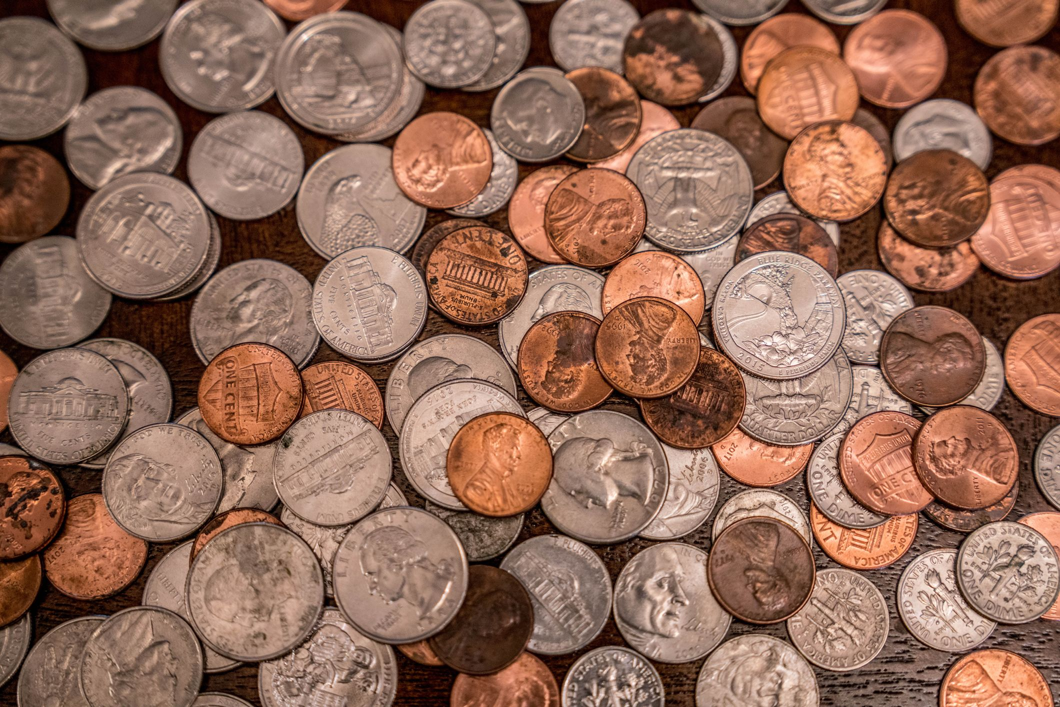 coins cents pennies