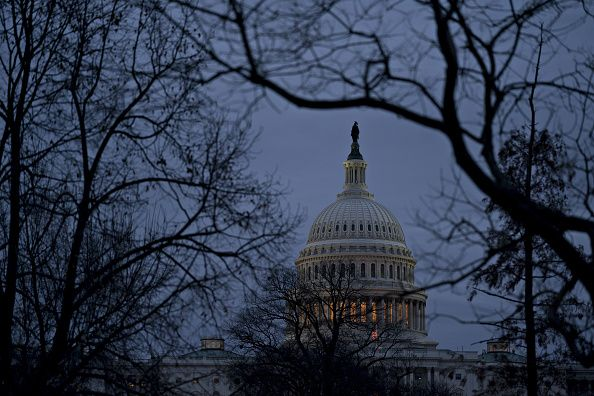 u.s. capitol during government shutdown