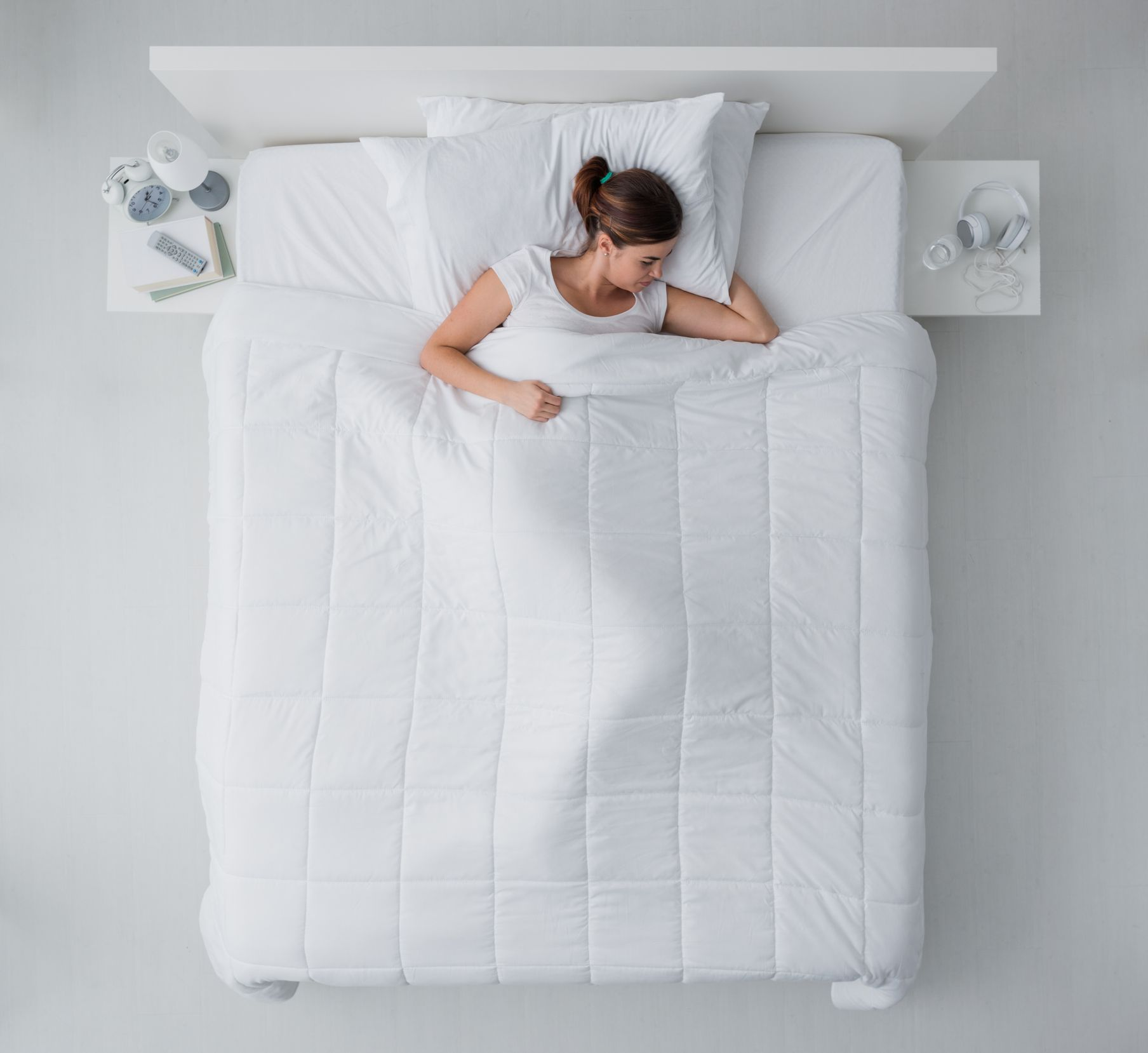 sleep bed getty stock