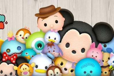 tsum, tsum, january, 2019, event, hearty, skill, white, handed, initial, p, s, score, bubbles, time, bubble, black, nose, horns, pointy, hair, happiness, premium, female makes hearts tips guide