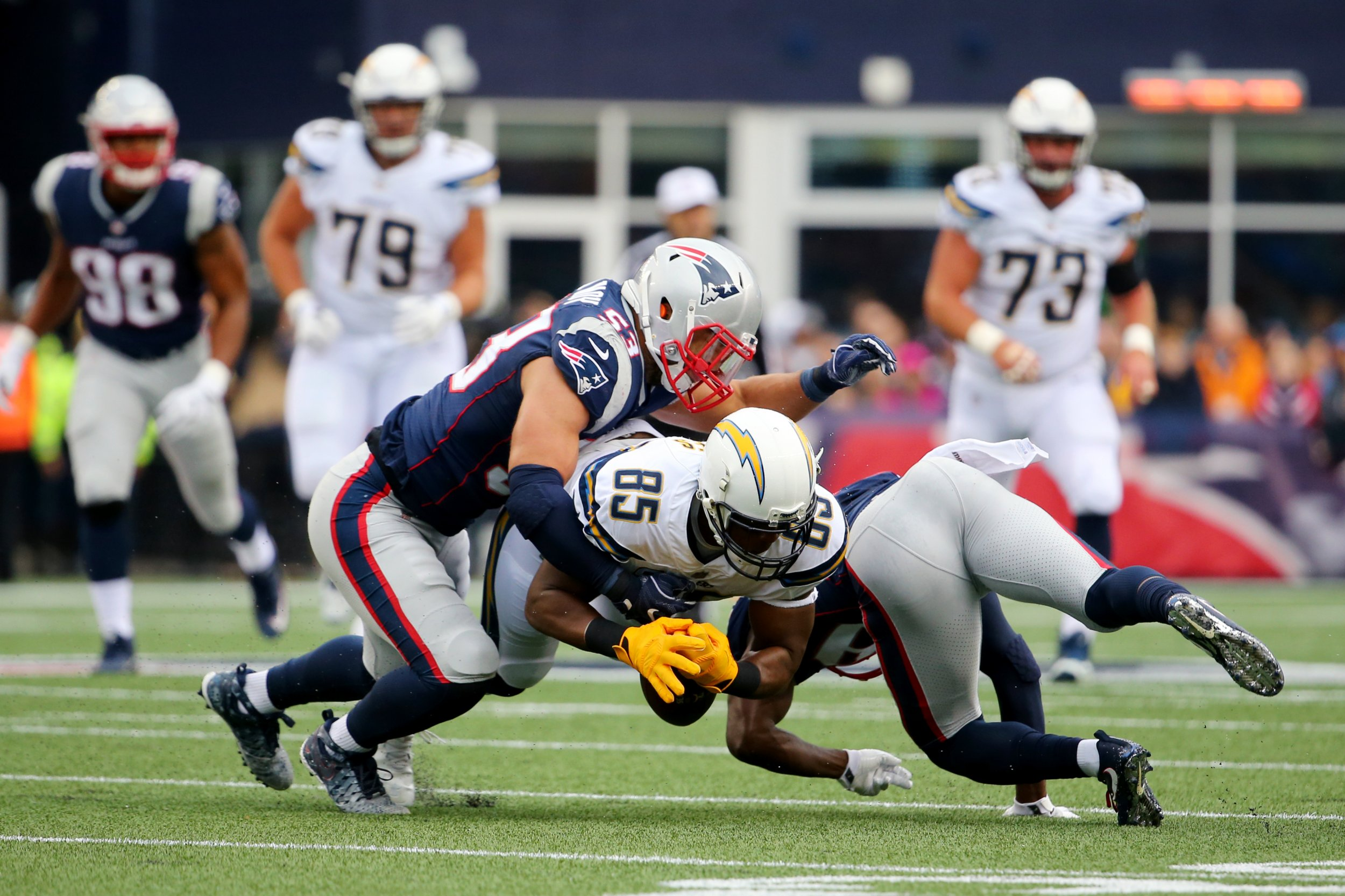how to watch los angeles chargers new england patriots nfl playoff game