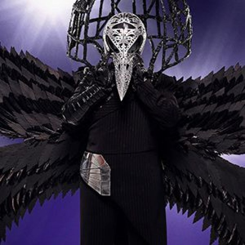 the masked singer episode 2 spoilers recap who is the raven? clues
