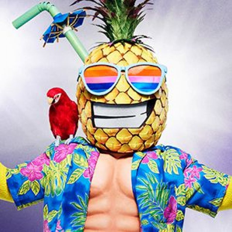 the masked singer who is the pineapple episode 2 spoilers recap hints clues which singer unmasked so far