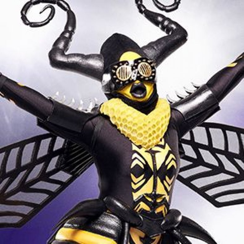the masked singer season 1 episode 2 spoilers recap who is the bee which singers unmasked so far when to watch how to watch what channel what time