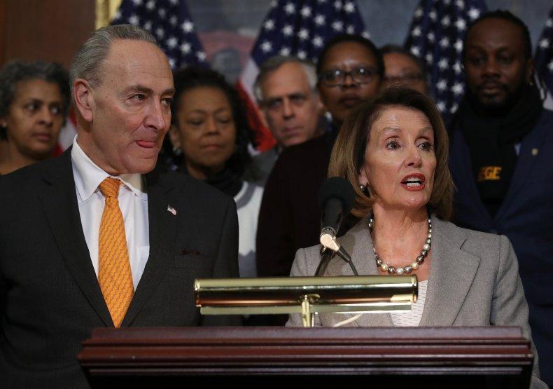 chuck, schumer, donald trump, shutdown, meeting