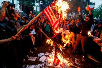 Michael, White, American, Navy, Veteran, Detained, Iran