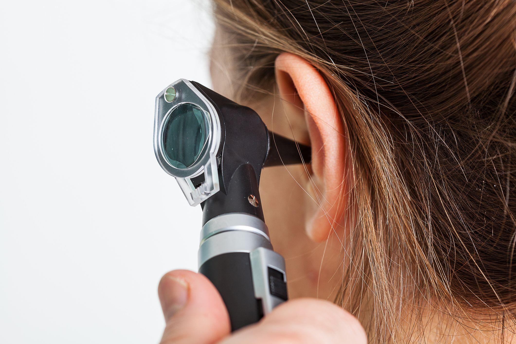 ear otoscope getty stock