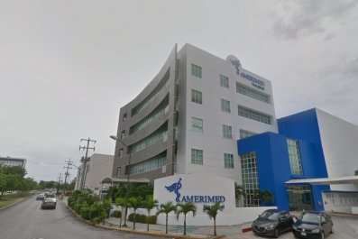 amerimed hospital cruise ship cancun mexico