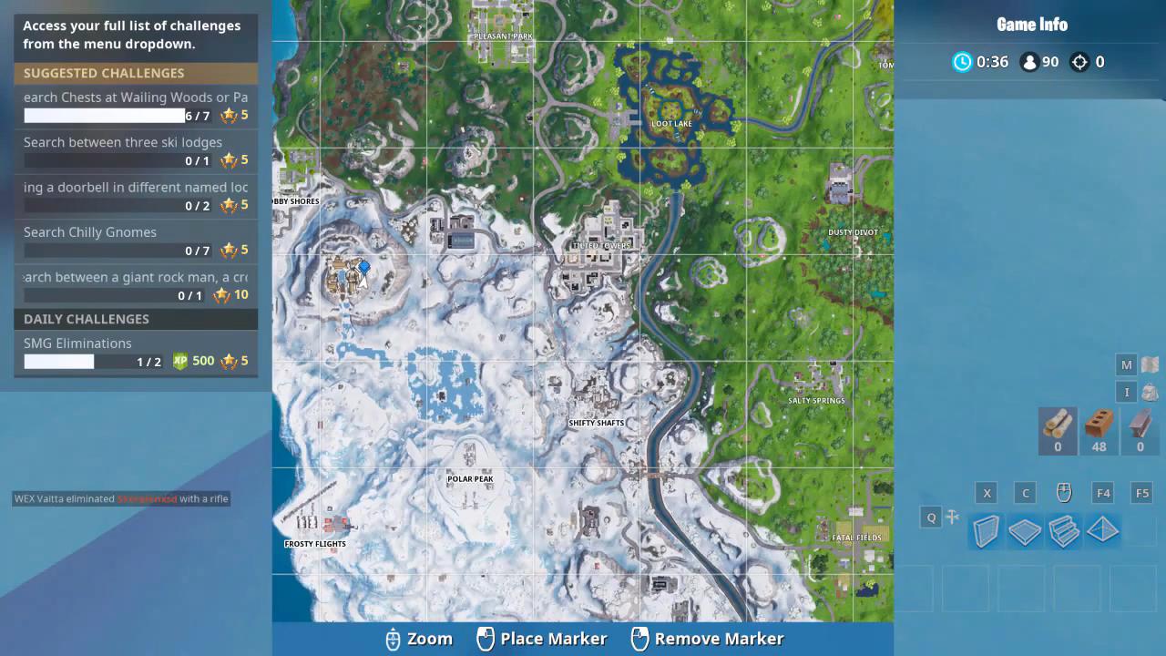 Fortnite Chilly Gnome Location 5