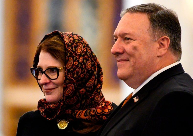 Iran, Pompeo, Middle, East, Human, Rights,