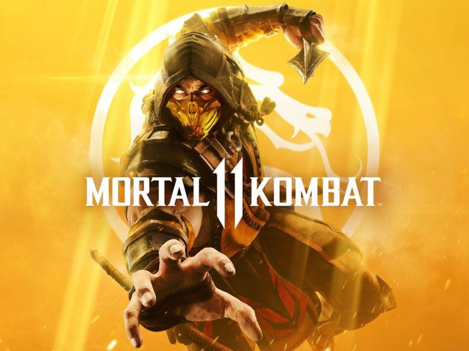 Mortal Kombat 11 Cover Reveals Scorpion In His Fiery Glory