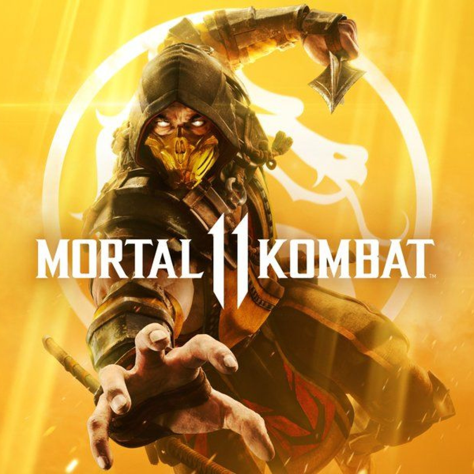 Mortal Kombat 11 Cover Reveals Scorpion In His Fiery Glory