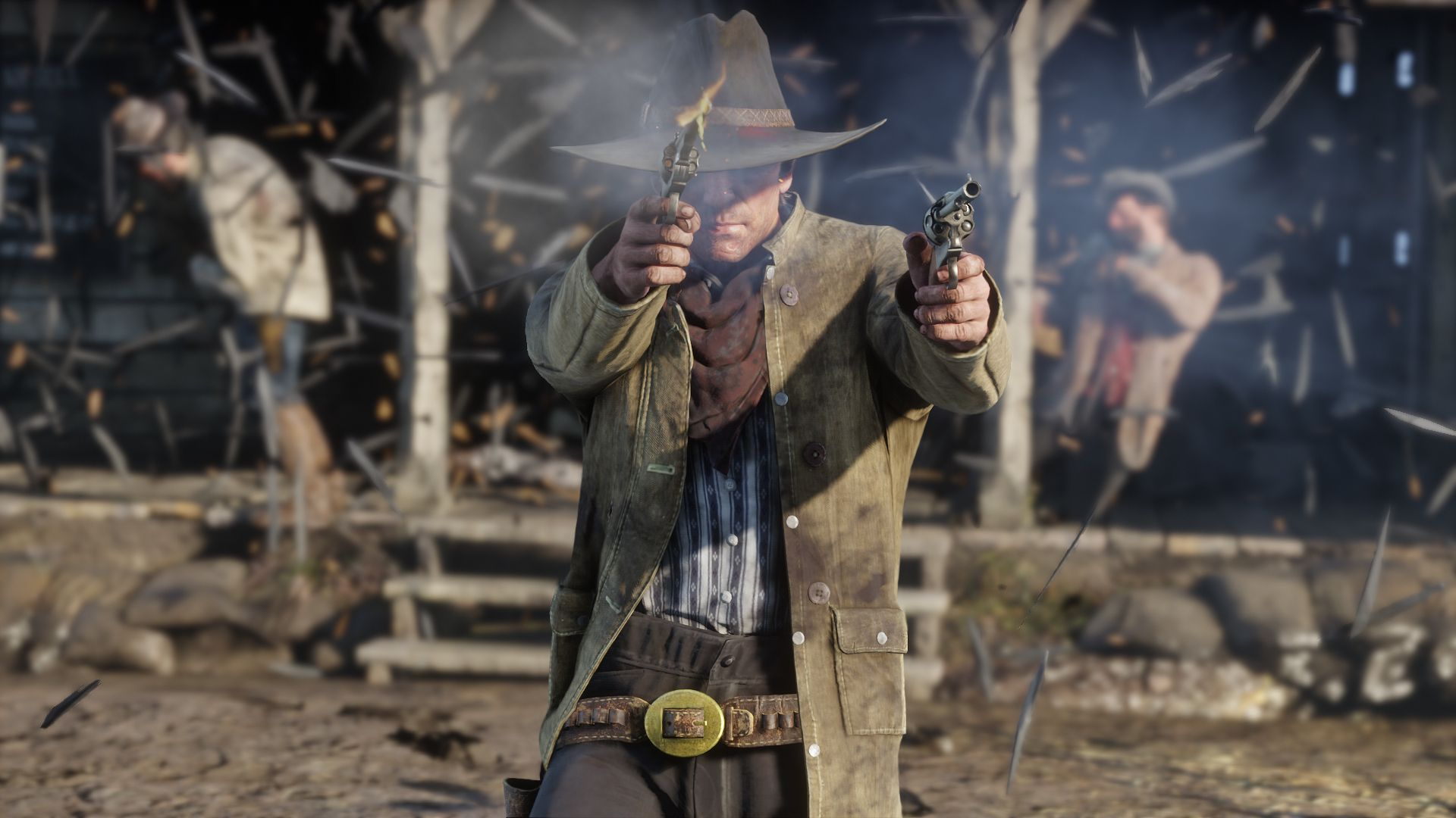 rdr2 online update shooting