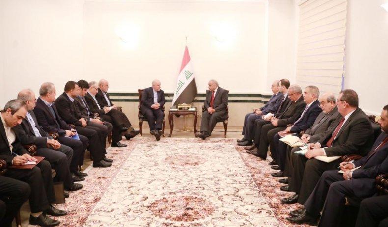 IraqIranOilMeeting