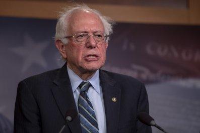 Sanders speaks