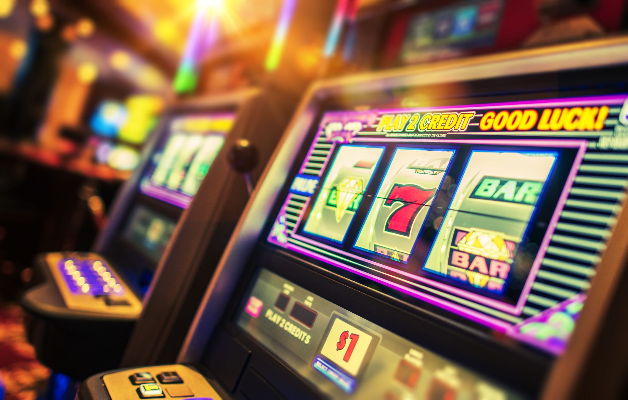 Playing Slot Machines Could Be Too Much of a Gamble