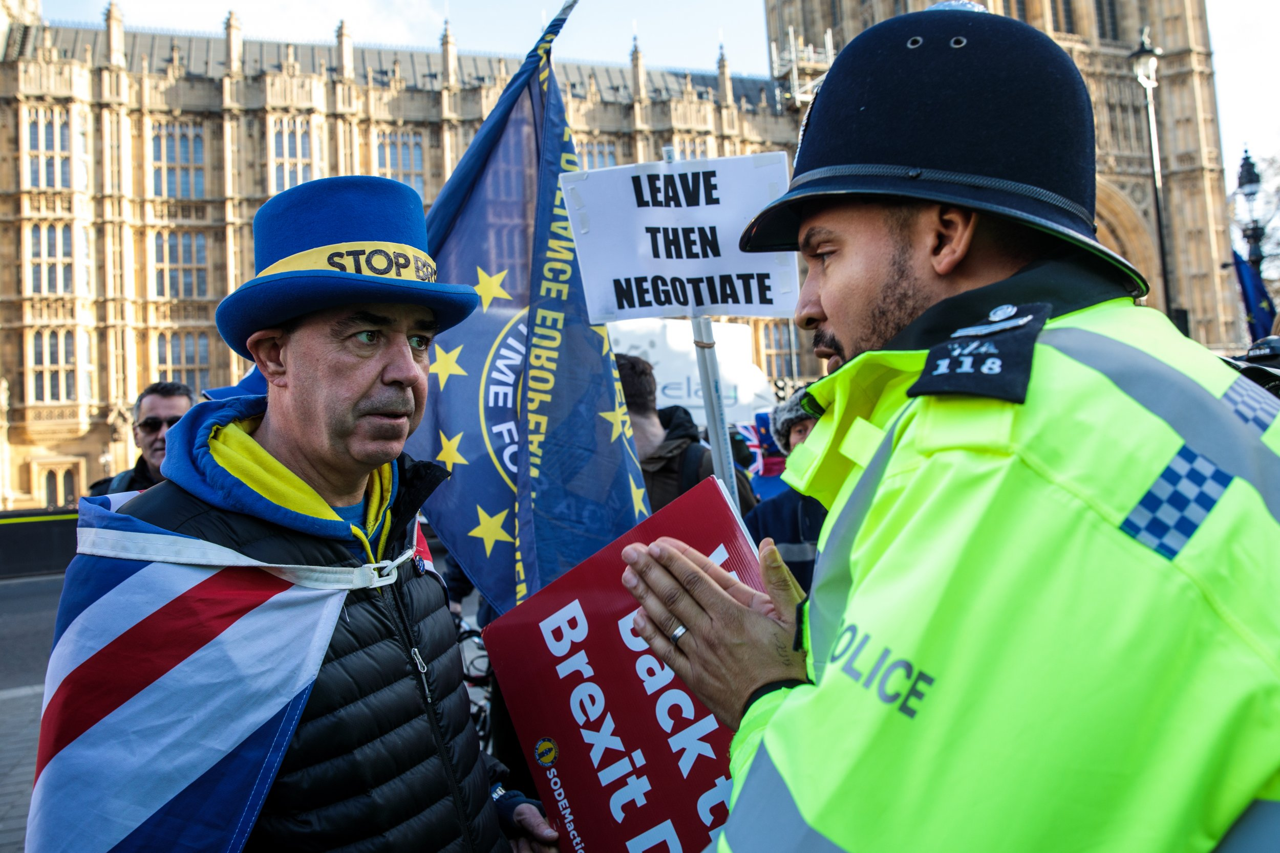 British police Brexit