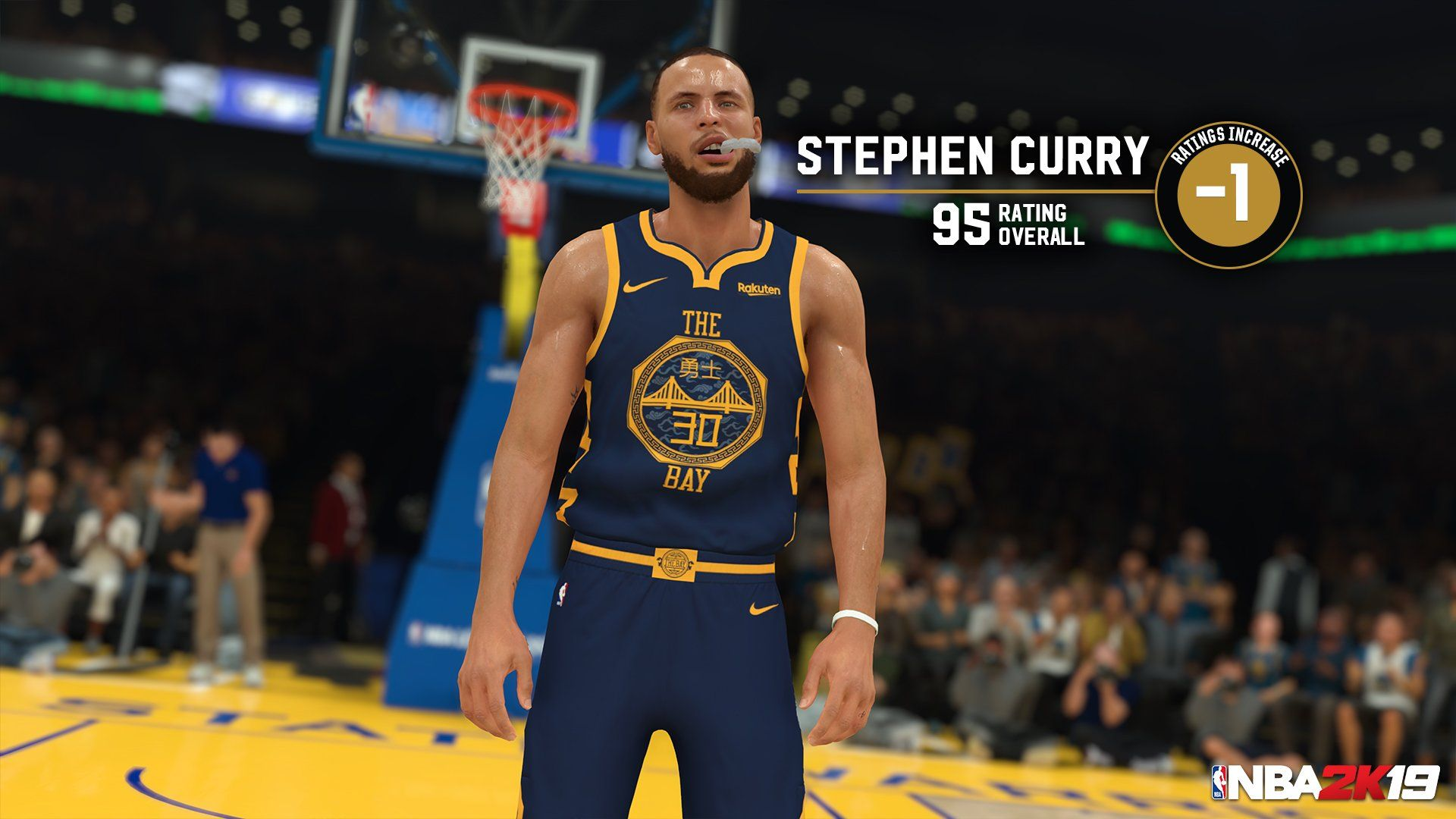 NBA 2K19 Steph Curry ratings update
